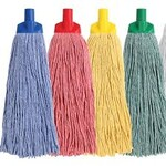 Mop Heads Colour Coded 400gr
