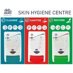 3 Step Skincare Board -Wash Sanitise Cream